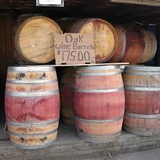 Retired Oak Wine Barrels Pleasant Valley Trailer Sales
