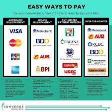 Online payments capture payment information via webforms or control every step of the process with converge. Here Are The Official Payment Converge Fiber Xtreme Facebook