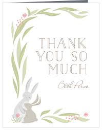 Thank You Easter Easter Thank You Cards Match Your Color Style Free