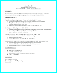 Sample Resume Mechanical Engineer Cool Professional Engineer Resume Template Engineering Resumes Templates