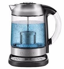 9 chefman electric glass digital tea kettle