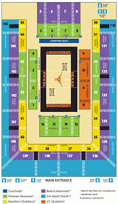Texas Dkr Memorial Stadium Seating Chart Dkr Texas Memorial Stadium Section 108 Rateyourseats