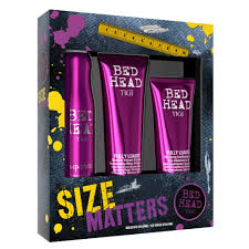 tigi bed head size matters gift set