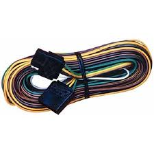 cheap trailer wiring harness 8 pole square connector trailer get quotations · seachoice flat 4 pole trailer y harness marine grade tinned wire