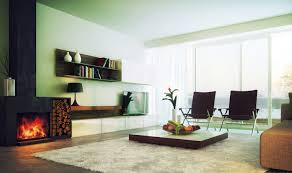 Living Room:Clean And Innovative Fireplace In Light Weight Modern Living  Room Ideas With Wooden