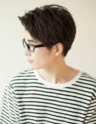 メンズ30代メガネが似合うショート髪型ny 121 ヘアカタログ