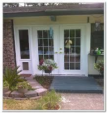 sliding glass door with dog door built in french patio doors with built in dog door sliding glass door dog door built in
