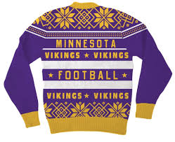 Minnesota Vikings Light Up Sweater Minnesota Vikings Purple Ugly Christmas Sweater Ugly