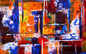 Photo Wallpaper Colorful, Abstract, Art ...