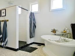 diy clawfoot tub shower. doorless-shower-design-bathroom-farmhouse-with-clawfoot-bathtub-diy-grey | beeyoutifullife.com diy clawfoot tub shower e