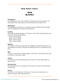 Nonfiction Book Report Template College Level Example Pdf Format Can