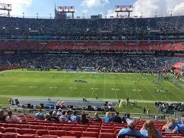 Nissan Stadium Section 211 Tennessee Titans