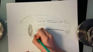 Dessin Ferrari F430 Partie 1 Youtube