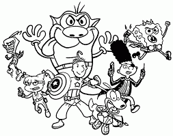 Small Picture Nickelodeon Online Coloring Coloring Coloring Pages