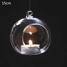 wish round bubble hanging clear glass terrarium air plant tea light candle holder across the sky