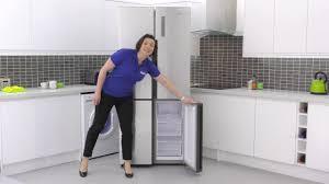 haier american fridge freezer. haier htf-452dm7 four door american fridge freezer