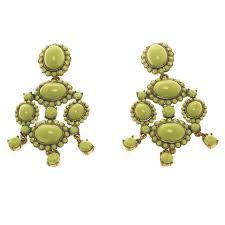 gold tone chandelier clip on earrings nextprev prevnext