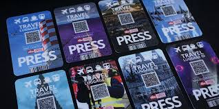 Press For Freelance Photographers Cards
