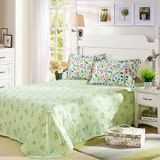light green and white cotton bedding set 4 600x600 light green and white cotton bedding