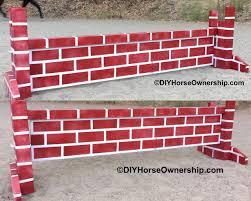 diy how to make a brick wall jump