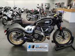 2017 ducati scrambler caf racer for sale in fort myers fl gulf