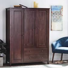 fresh solid wood armoire wardrobe of furniture short wardrobe armoire bedroom armoire with drawers