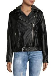 lock and love ll womens hooded faux leather jacket at women s