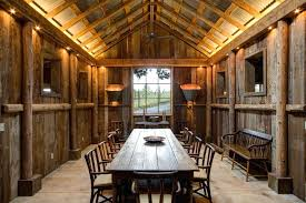 rustic corrugated metal ceiling dining room farmhouse with cathedral vaulted fan decoration s for party near
