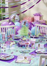 Decoration Stuff For Party Disney Princess And The Frog Ultimate Party Pack For 8 Baby