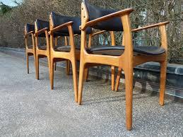 erik buck domus danica od mÖbler as 4 stÜhle teak danish modern dining chairs in antiquitäten