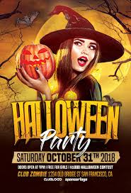 Costume Contest Flyer Template Halloween Party Vol 2 Flyer Template Holiday Event Flyer