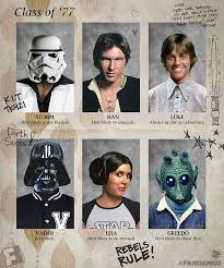 exclusive artwork star wars yearbook pages from a long time ago