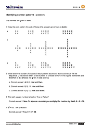 BBC - Skillswise - Identifying number patterns