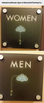 clever bathroom signs. clever bathroom signs a