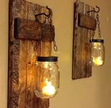 candle scones wood sconces rustic home decor rustic candle holder rustic lantern mason jar candle scones appealing interesting metal wall sconces