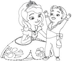 Sofia The First Coloring Pages To Print The First Coloring Pages To