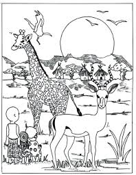 Printable Coloring Pages African Animals Coloring Pages Perfect