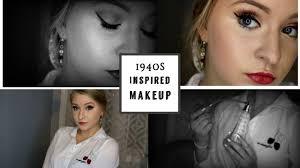 1940 s inspired makeup tutorial