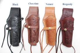 hand tooled leather holster we h1
