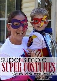 easy diy family superhero costume 20 diy superhero costume ideas