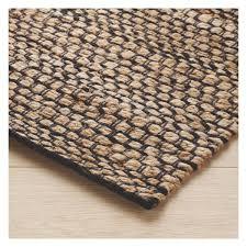 hurst large brown jute rug 160 x 230cm