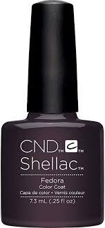 <b>CND Shellac Fedora</b>, 7.3 ml/0.25 fl oz.: Amazon.co.uk: Beauty