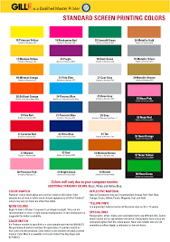 Fire Color Chart Gill Line Faqs Color Chart