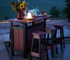 Decorating Bar Height Outdoor Table Outdoor Furniture High Table And