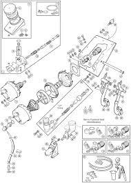 Brake master cylinder diagram brake master cylinder servo brake hydraulics brakes tr5 6 of brake