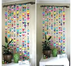 paper wall decorations decoration idea how to make easy