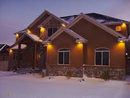 stylish toronto eavestroughing new soffits and led lighting led soffit exterior can lights designs