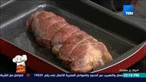 بيتك و مطبخك اعرفي أسهل طريقة لعمل عرق اللحمة الباردة بالصوص من الشيف غادة مصطفي