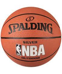 <b>Мяч</b> баскетбольный <b>Spalding NBA</b> Silver, Размер 6 (83015Z) (6 ...