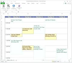 After School Schedule Template Printable High Daily Primary Online